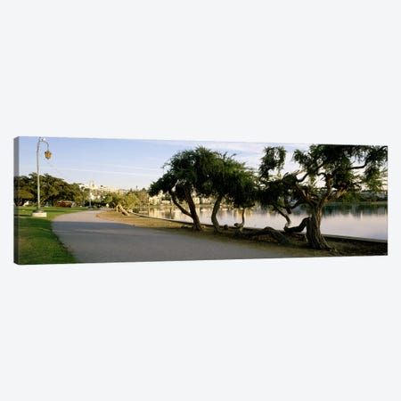 USA, California, Oakland, Path 3-Piece Canvas #PIM3565} by Panoramic Images Canvas Wall Art