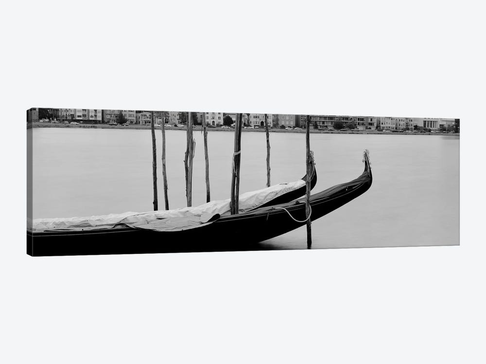 Gondola in a lake, Oakland, California, USA by Panoramic Images 1-piece Canvas Artwork