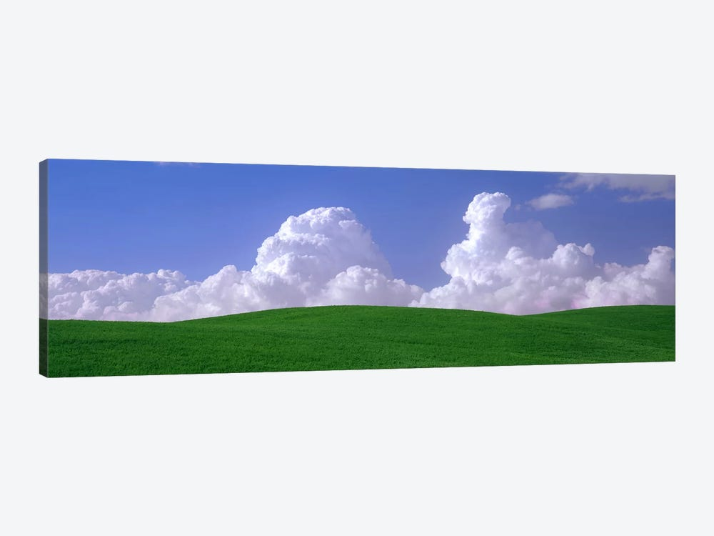 Clouds Over A Green Pasture, Palouse, Washington, USA by Panoramic Images 1-piece Canvas Art Print