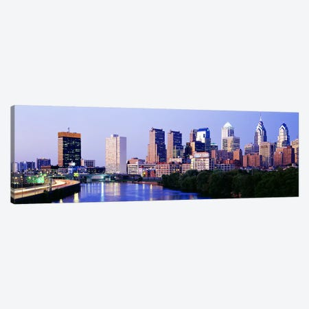 Philadelphia, Pennsylvania, USA #5 Canvas Print #PIM3568} by Panoramic Images Art Print