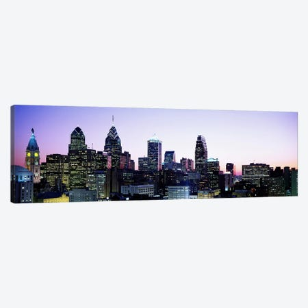 PhiladelphiaPennsylvania, USA Canvas Print #PIM3569} by Panoramic Images Art Print