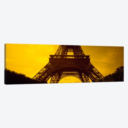 Sauvestre's Arches & Second Level, Eiffel Tower, Paris, Ile-De-France, France Canvas Print #PIM356} by Panoramic Images Canvas Art Print