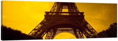 Sauvestre's Arches & Second Level, Eiffel Tower, Paris, Ile-De-France, France Canvas Print #PIM356