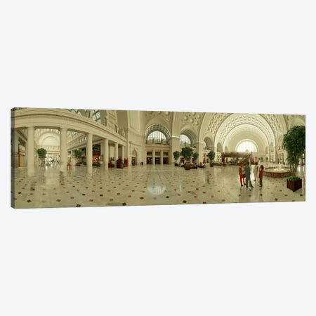 Interior Union Station Washington DC Canvas Print #PIM3578} by Panoramic Images Canvas Artwork