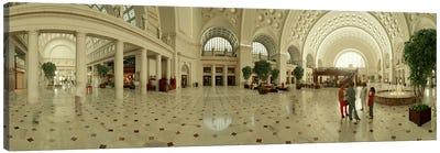 Interior Union Station Washington DC Canvas Print #PIM3578
