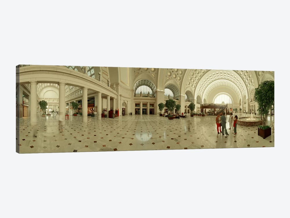 Interior Union Station Washington DC by Panoramic Images 1-piece Canvas Print