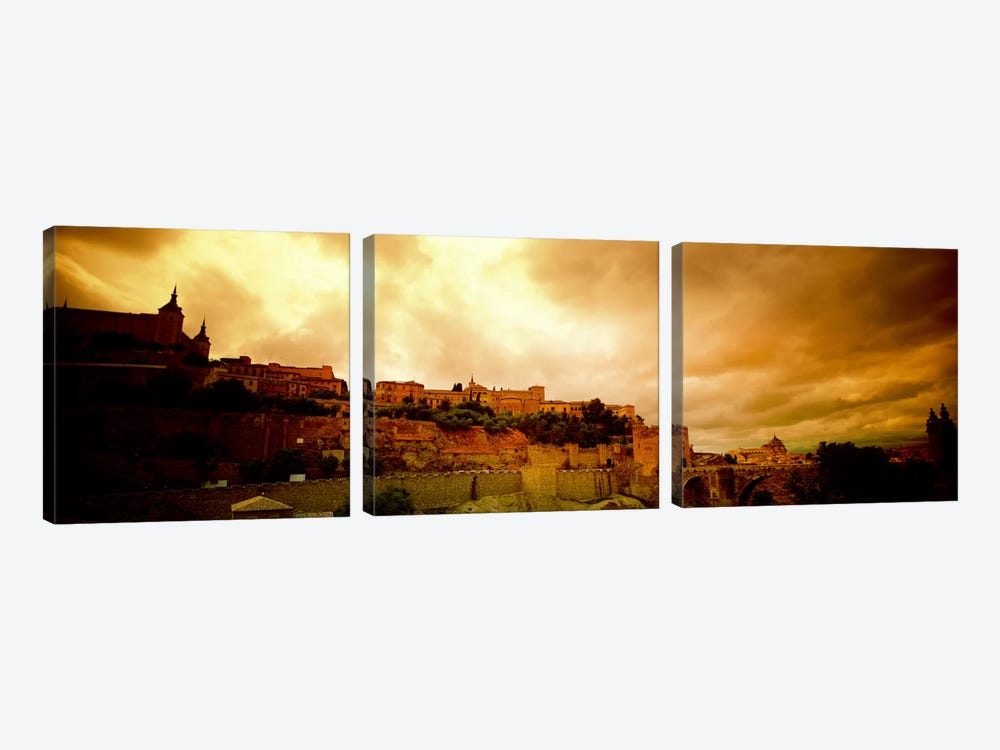 Toledo Spain by Panoramic Images 3-piece Canvas Art