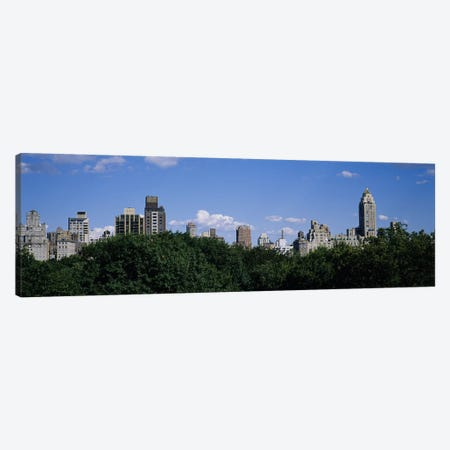 Buildings in a cityManhattan, New York City, New York State, USA Canvas Print #PIM3585} by Panoramic Images Canvas Artwork