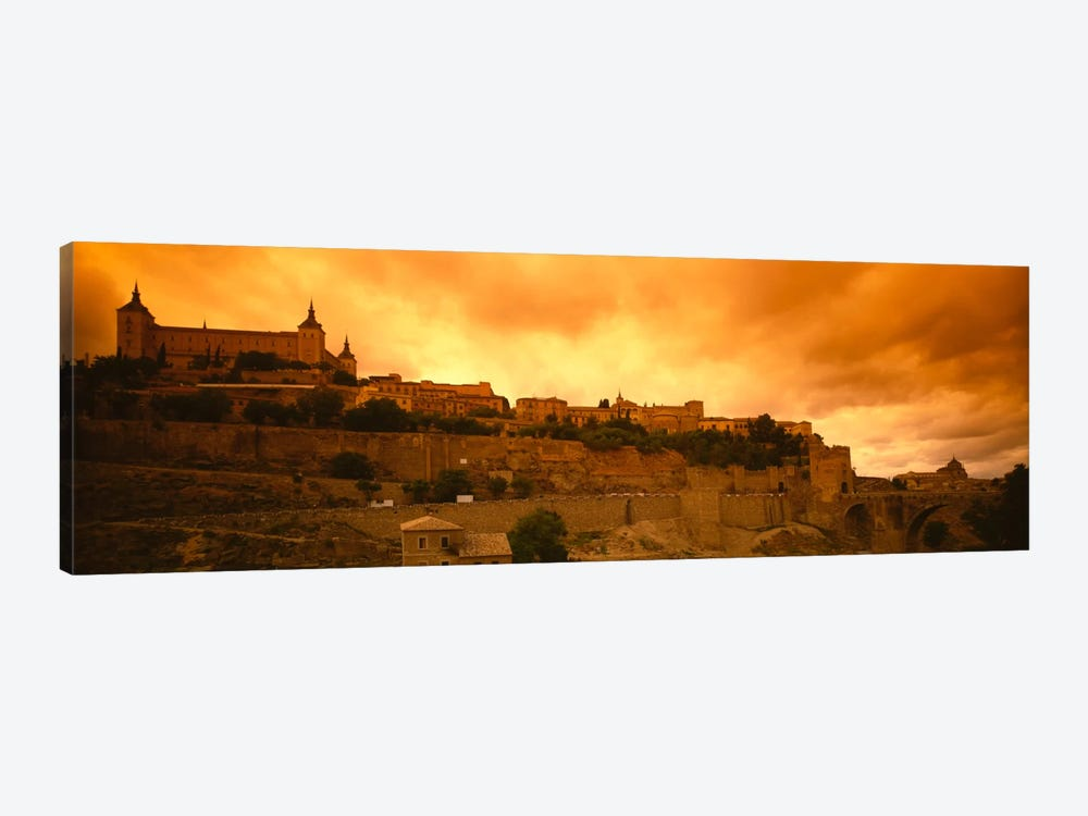 Alcazar de Toledo At Dusk, Toledo, Spain by Panoramic Images 1-piece Canvas Art Print