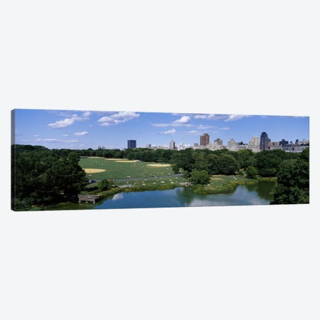 Great LawnCentral Park, Manhattan, NYC, New York City, New York State, USA Canvas Print #PIM3592} by Panoramic Images Canvas Artwork