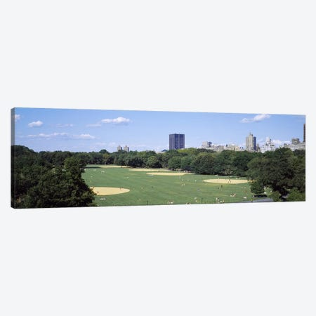 High angle view of the Great LawnCentral Park, Manhattan, New York City, New York State, USA Canvas Print #PIM3593} by Panoramic Images Canvas Artwork