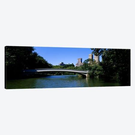 Bridge Over A LakeBow Bridge, Manhattan, NYC, New York City, New York State, USA Canvas Print #PIM3594} by Panoramic Images Canvas Art Print