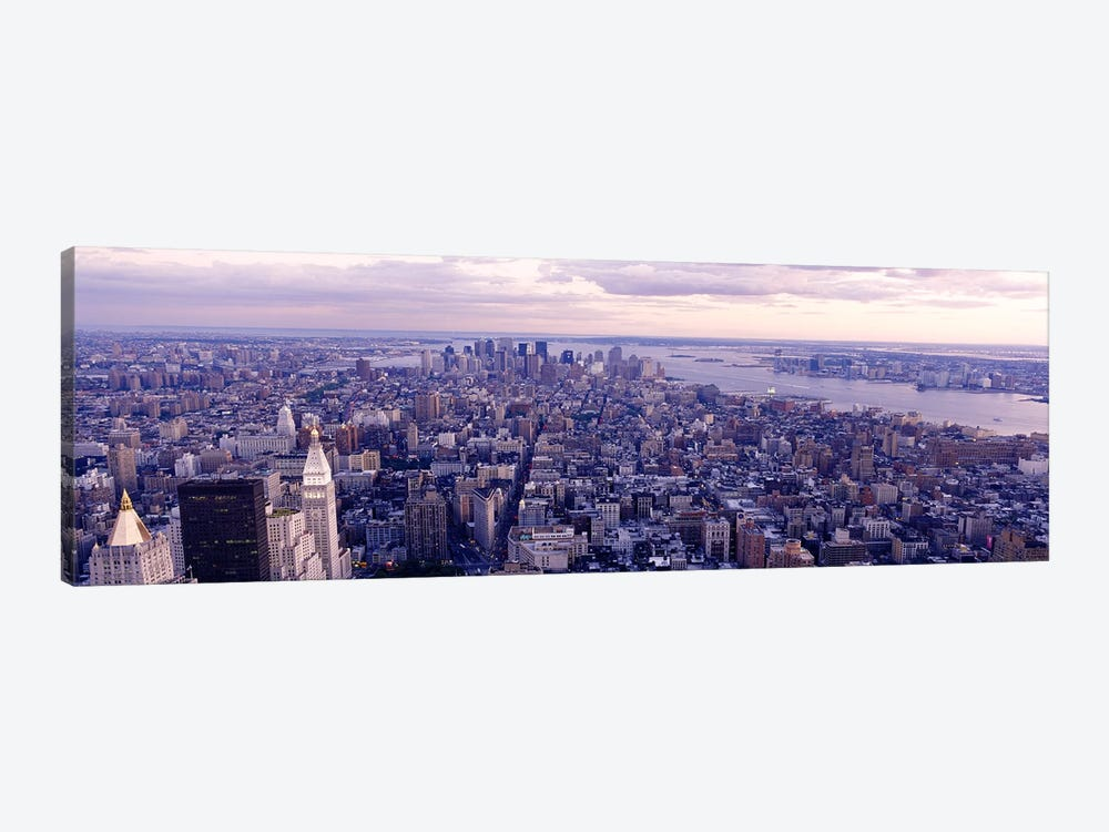 Aerial View From Top Of Empire State Building, Manhattan, NYC, New York City, New York State, USA by Panoramic Images 1-piece Canvas Art