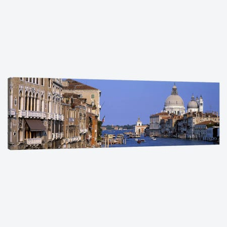 Grand Canal Venice Italy Canvas Print #PIM3607} by Panoramic Images Art Print