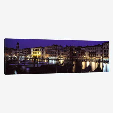Grand Canal Venice Italy Canvas Print #PIM3608} by Panoramic Images Canvas Art
