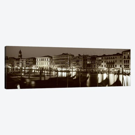 Grand Canal Venice Italy 3-Piece Canvas #PIM3609} by Panoramic Images Canvas Artwork