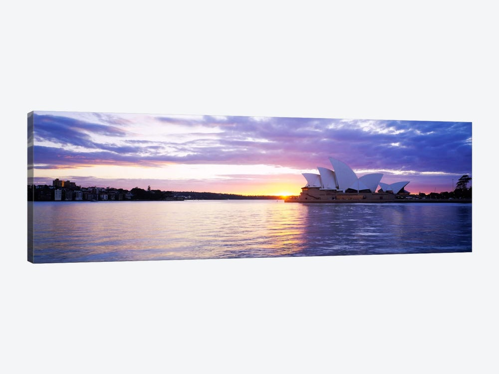 Sydney Opera House At Sunrise, Sydney, New South Wales, Australia by Panoramic Images 1-piece Canvas Artwork