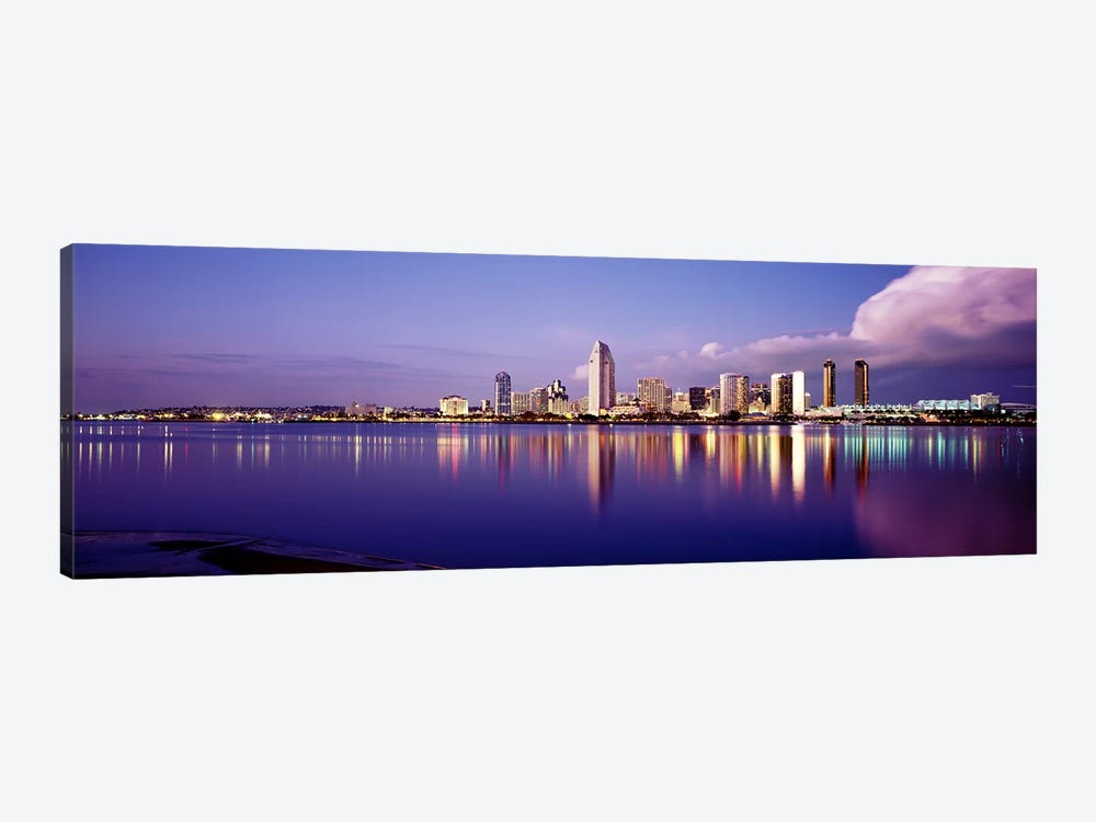 USA, California, San Diego, Financial district by Panoramic Images 1-piece Canvas Art Print