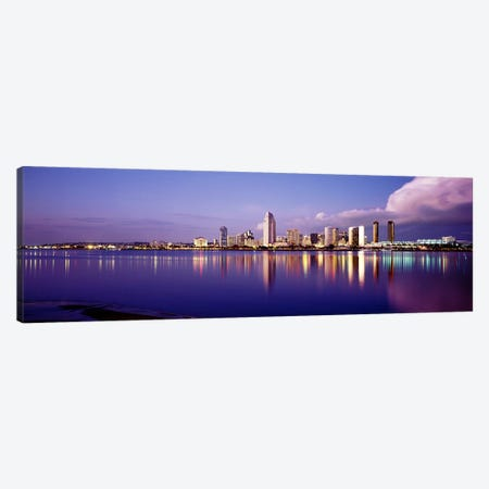 USA, California, San Diego, Financial district Canvas Print #PIM3612} by Panoramic Images Canvas Print