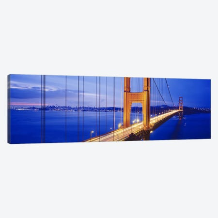 Golden Gate Bridge, San Francisco, California, USA #3 Canvas Print #PIM3613} by Panoramic Images Art Print