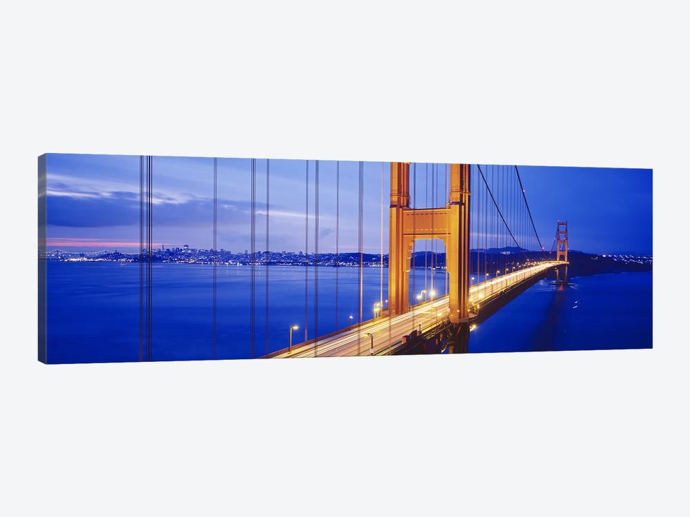 Golden Gate Bridge, San Francisco, California, USA #3 by Panoramic Images 1-piece Canvas Wall Art