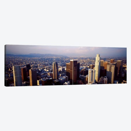 Los Angeles, California, USA #2 Canvas Print #PIM3617} by Panoramic Images Canvas Artwork