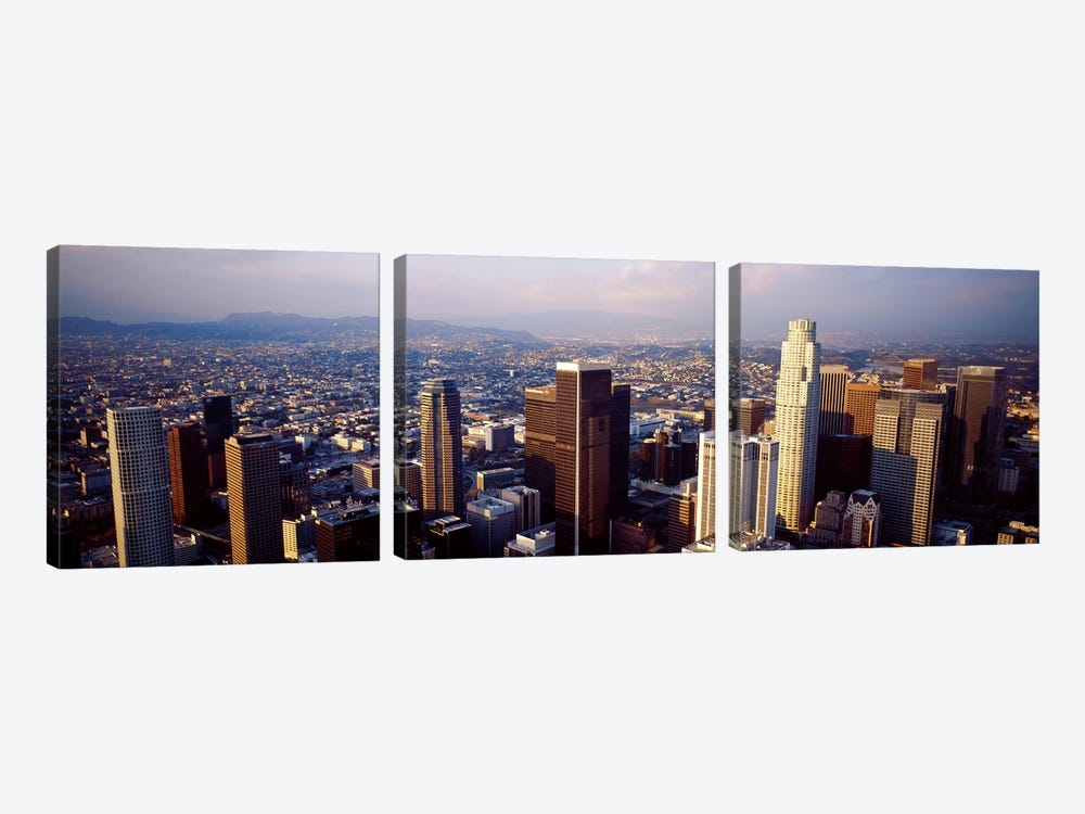 Los Angeles, California, USA #2 by Panoramic Images 3-piece Canvas Art