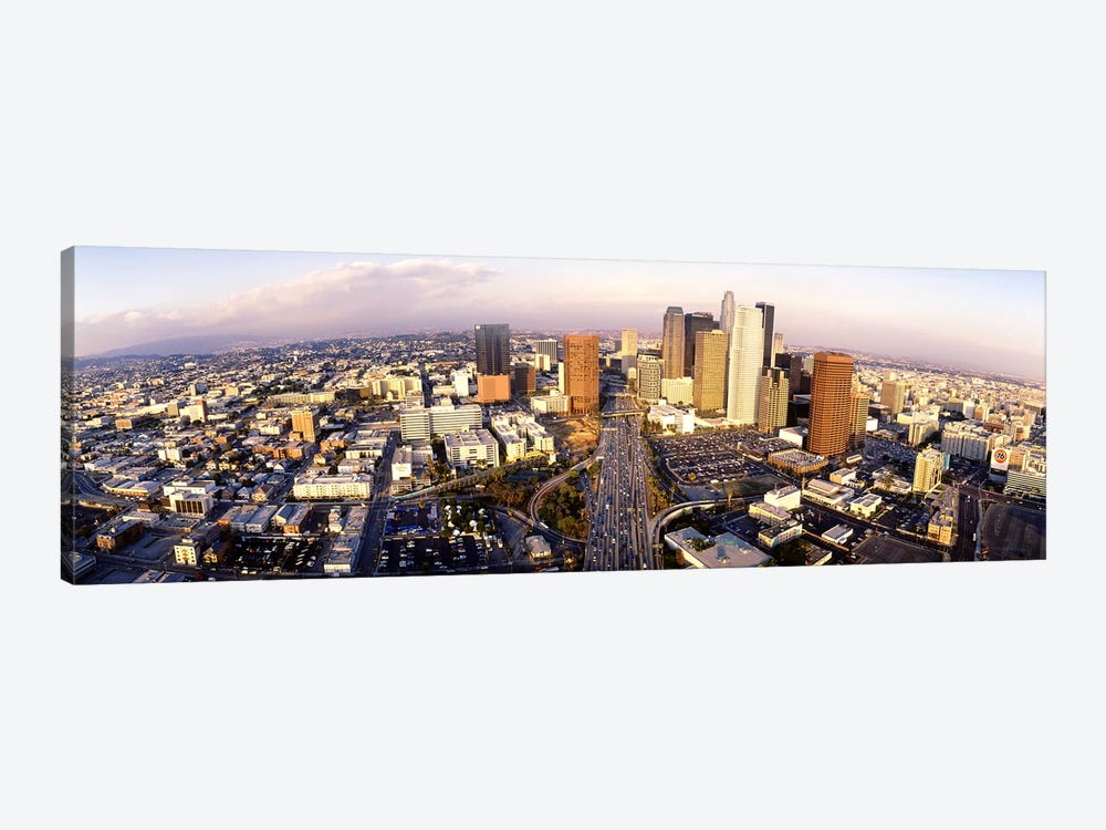 USA, California, Los Angeles, Financial District by Panoramic Images 1-piece Canvas Art Print