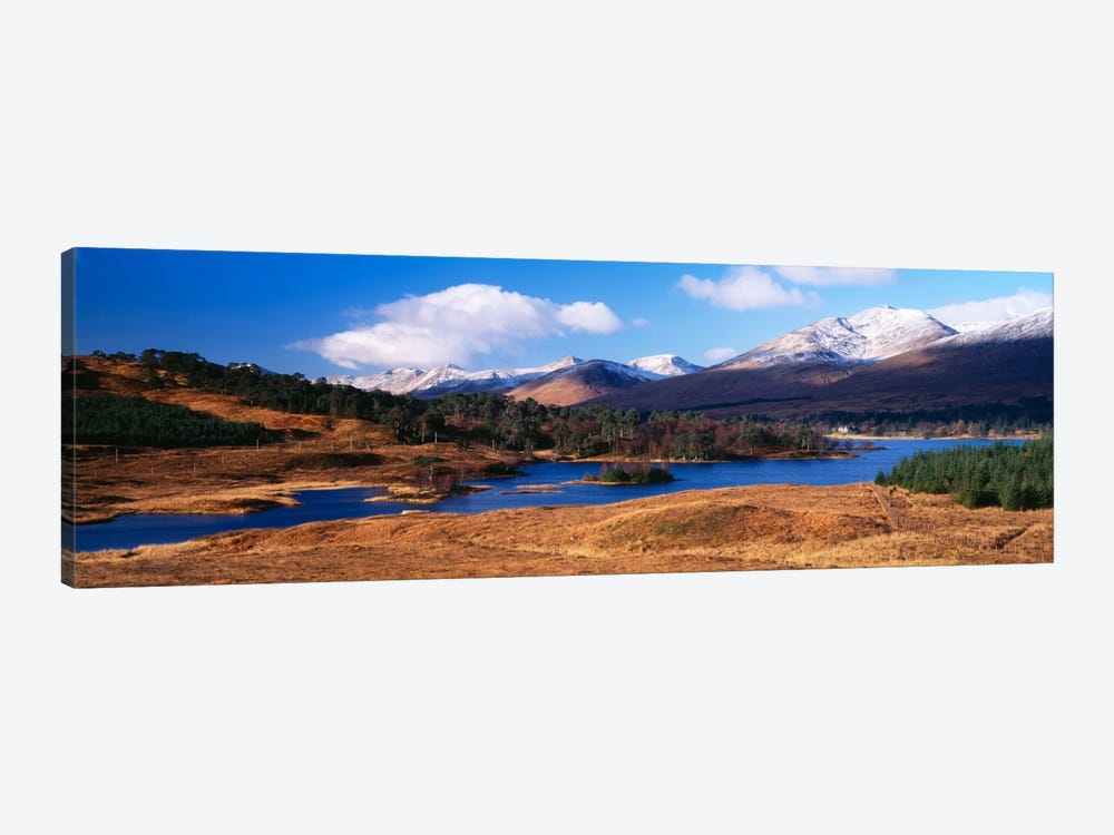 Mountainside Landscape Featuring Loch Tulla, Argyll and Bute, Scotland, United Kingdom by Panoramic Images 1-piece Art Print