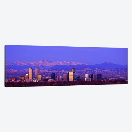 Denver, Colorado, USA #2 Canvas Print #PIM3620} by Panoramic Images Canvas Artwork