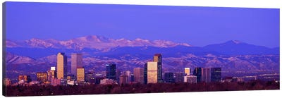 Denver, Colorado, USA #2 Canvas Art Print
