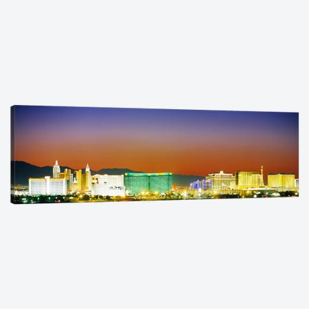 Las Vegas, Nevada, USA #2 Canvas Print #PIM3622} by Panoramic Images Canvas Artwork