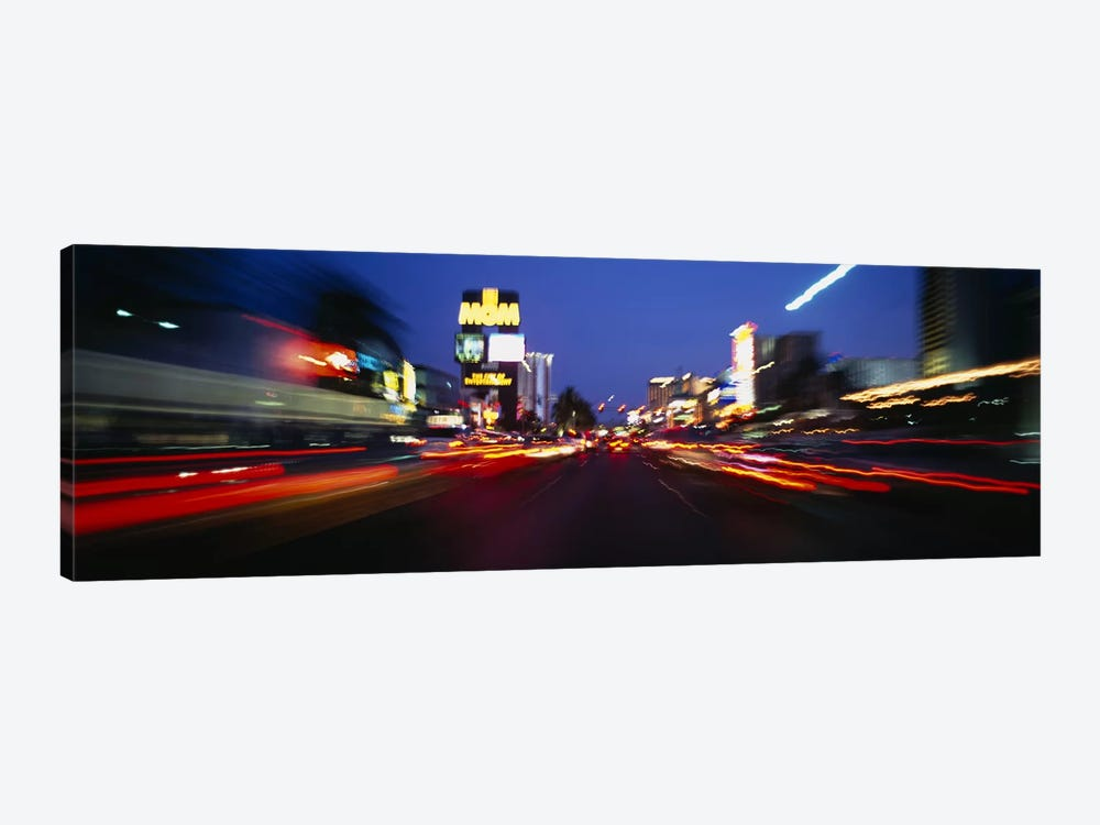 The Strip at dusk, Las Vegas, Nevada, USA #2 by Panoramic Images 1-piece Canvas Art Print