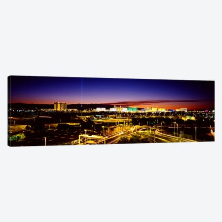 Las Vegas NV Canvas Print #PIM3627} by Panoramic Images Canvas Art Print