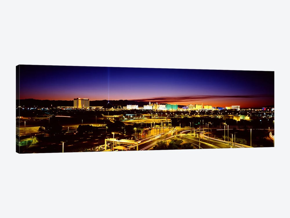 Las Vegas NV 1-piece Canvas Art Print
