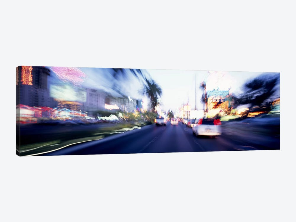 The Strip At Dusk, Las Vegas, Nevada, USA #4 by Panoramic Images 1-piece Canvas Wall Art