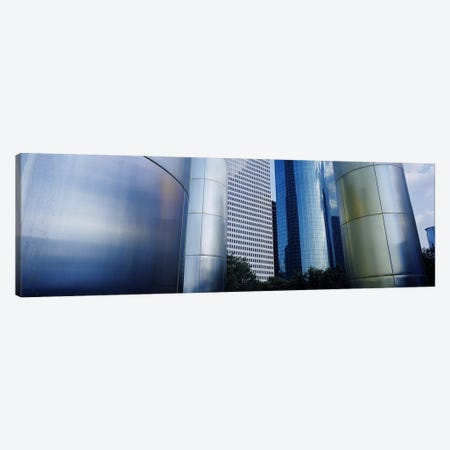 Buildings in a city, Houston, Texas, USA #2 Canvas Print #PIM3635} by Panoramic Images Canvas Art