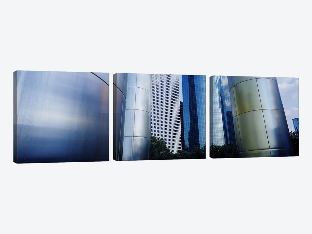 Buildings in a city, Houston, Texas, USA #2 by Panoramic Images 3-piece Canvas Wall Art