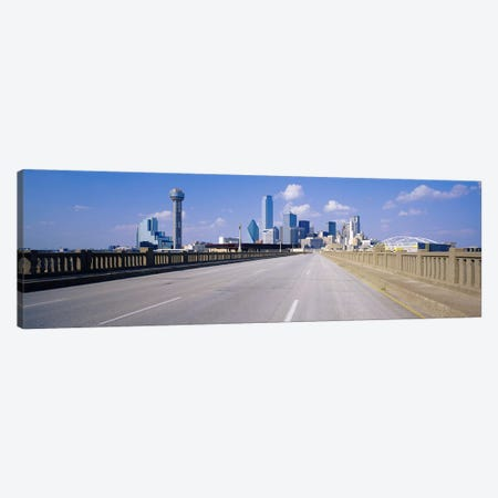 Buildings in a city, Dallas, Texas, USA #2 Canvas Print #PIM3640} by Panoramic Images Canvas Artwork