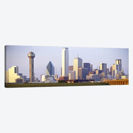 Buildings in a city, Dallas, Texas, USA #3 Canvas Print #PIM3641} by Panoramic Images Canvas Wall Art