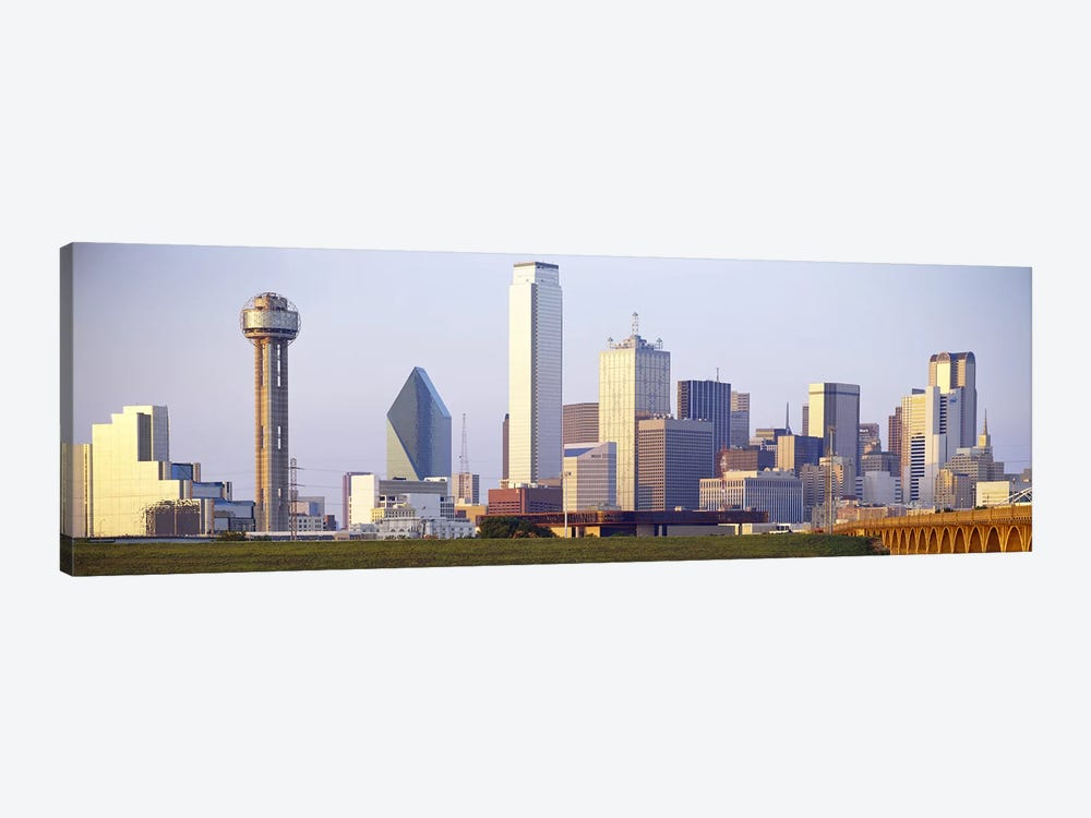 Buildings in a city, Dallas, Texas, USA #3 by Panoramic Images 1-piece Canvas Print