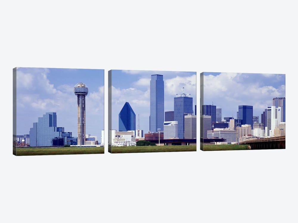 Dallas, Texas, USA #2 3-piece Canvas Art