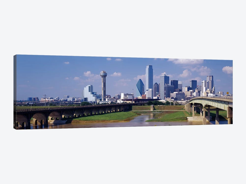 Office Buildings In A City, Dallas, Texas, USA by Panoramic Images 1-piece Art Print