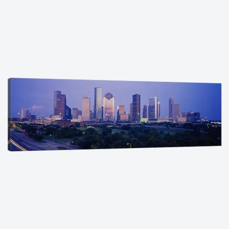 Buildings in a city, Houston, Texas, USA #3 Canvas Print #PIM3644} by Panoramic Images Canvas Print