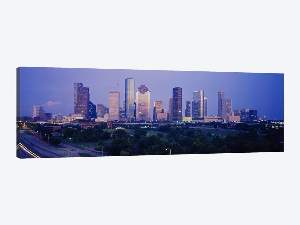 Buildings in a city, Houston, Texas, USA #3 by Panoramic Images 1-piece Canvas Art