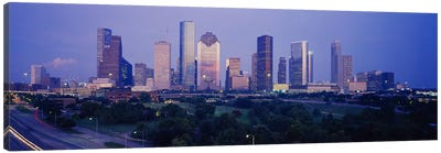Buildings in a city, Houston, Texas, USA #3 Canvas Art Print