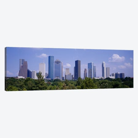 Buildings in a cityHouston, Texas, USA Canvas Print #PIM3648} by Panoramic Images Canvas Wall Art
