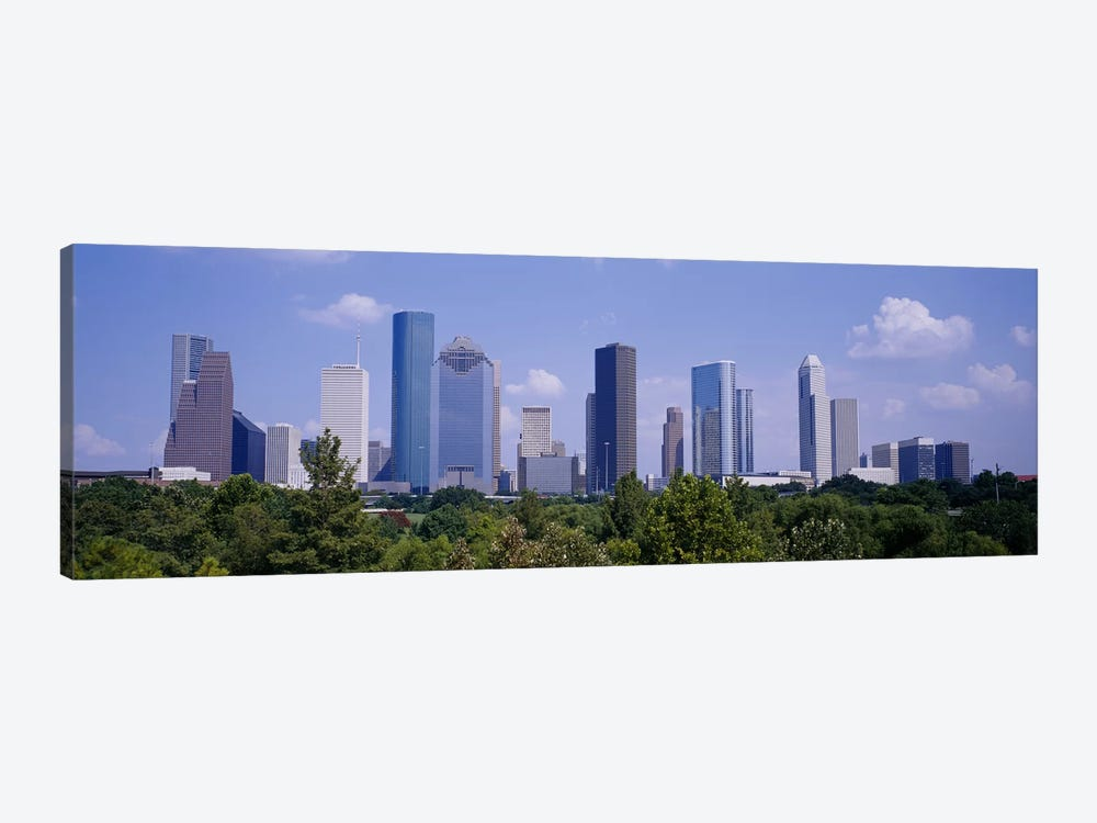 Buildings in a cityHouston, Texas, USA by Panoramic Images 1-piece Canvas Wall Art
