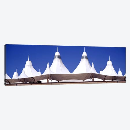 Roof of a terminal building at an airportDenver International Airport, Denver, Colorado, USA Canvas Print #PIM3650} by Panoramic Images Canvas Art Print
