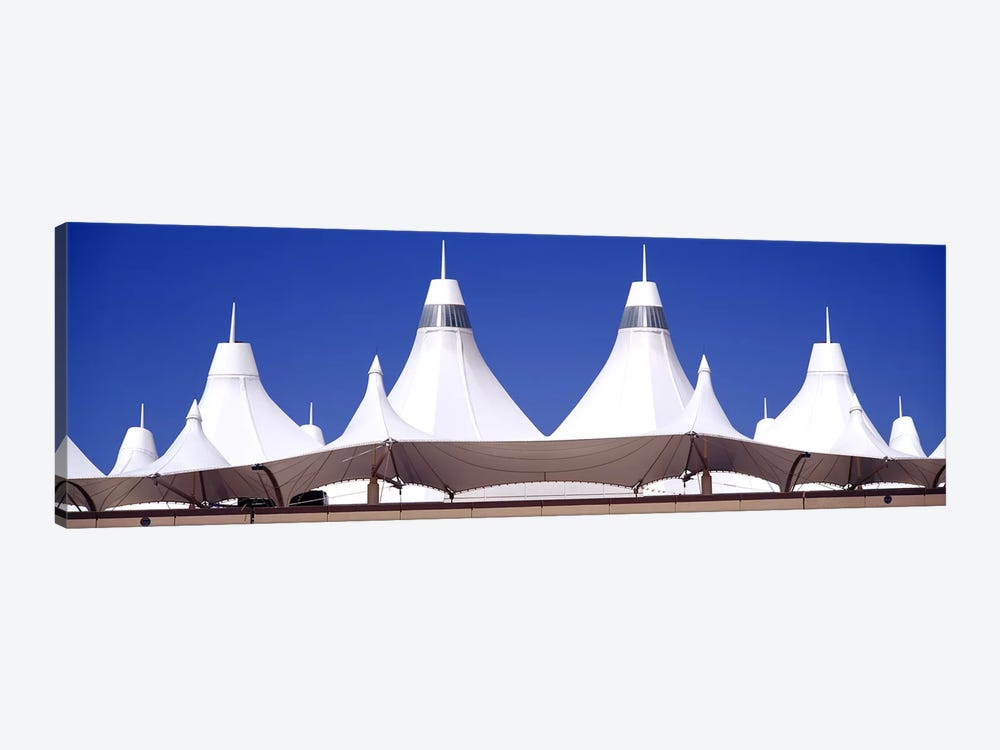 Roof of a terminal building at an airportDenver International Airport, Denver, Colorado, USA by Panoramic Images 1-piece Art Print